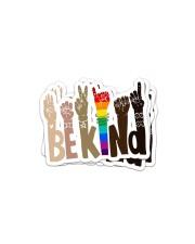 Bekind Sticker - 4 pack (Vertical) front