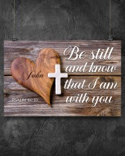 Be Still Personalized 17x11 Poster aos-poster-landscape-17x11-lifestyle-12