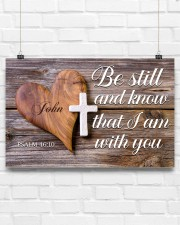 Be Still Personalized 17x11 Poster aos-poster-landscape-17x11-lifestyle-17