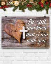 Be Still Personalized 17x11 Poster aos-poster-landscape-17x11-lifestyle-28