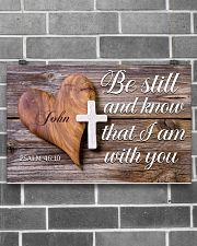 Be Still Personalized 17x11 Poster poster-landscape-17x11-lifestyle-18