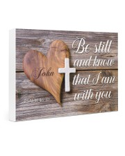 Be Still Personalized Gallery Wrapped Canvas Prints tile