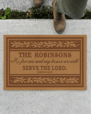 """Customized As For My House Doormat 22.5"""" x 15""""  aos-doormat-22-5x15-lifestyle-front-01"""