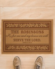 """Customized As For My House Doormat 22.5"""" x 15""""  aos-doormat-22-5x15-lifestyle-front-02"""