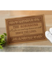 """Customized As For My House Doormat 22.5"""" x 15""""  aos-doormat-22-5x15-lifestyle-front-11"""