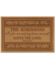 """Customized As For My House Doormat 22.5"""" x 15""""  front"""