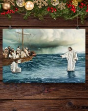 Jesus Christ Walking On Water 17x11 Poster aos-poster-landscape-17x11-lifestyle-27