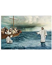 Jesus Christ Walking On Water 17x11 Poster front
