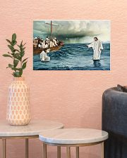 Jesus Christ Walking On Water 17x11 Poster poster-landscape-17x11-lifestyle-21