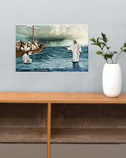 Jesus Christ Walking On Water 17x11 Poster poster-landscape-17x11-lifestyle-24