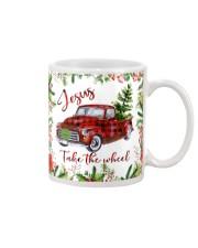 Jesus Take The Wheel Christmas  Mug tile
