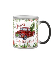 Jesus Take The Wheel Christmas  Color Changing Mug tile