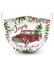 Jesus Take The Wheel Christmas  Masks tile
