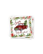 Jesus Take The Wheel Christmas  Sticker tile