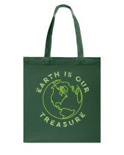 Earth is Our Treasure Tote Bag thumbnail