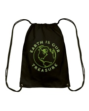 Earth is Our Treasure Drawstring Bag thumbnail