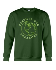 Earth is Our Treasure Crewneck Sweatshirt thumbnail