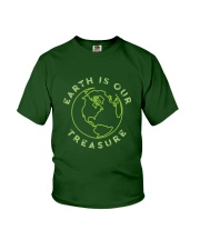 Earth is Our Treasure Youth T-Shirt thumbnail