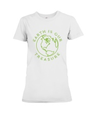 Earth is Our Treasure Premium Fit Ladies Tee tile