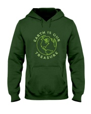 Earth is Our Treasure Hooded Sweatshirt thumbnail