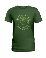 Earth is Our Treasure Ladies T-Shirt tile