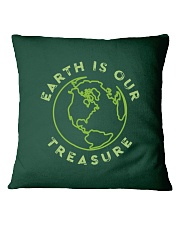 Earth is Our Treasure Square Pillowcase thumbnail