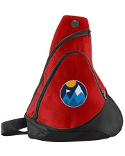Minimalist Mountains Sling Pack front