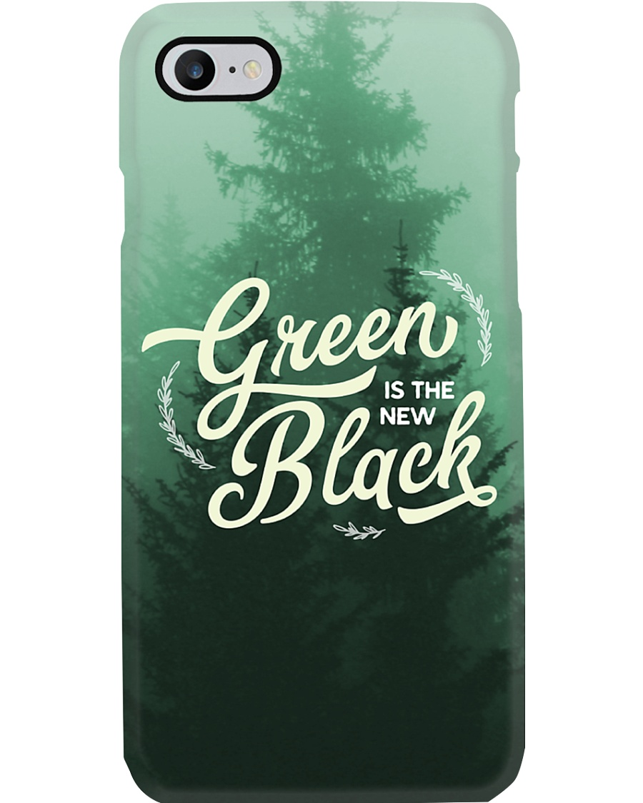 Green is the New Black Phone Case