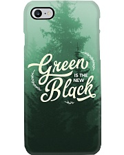 Green is the New Black Phone Case i-phone-7-case