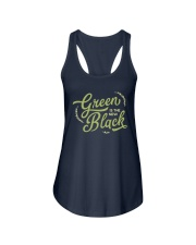 Green is the New Black Ladies Flowy Tank thumbnail