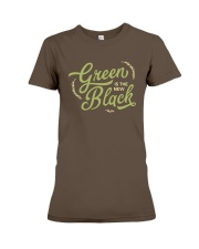 Green is the New Black Premium Fit Ladies Tee thumbnail