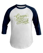 Green is the New Black Baseball Tee thumbnail