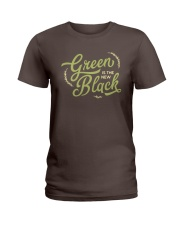 Green is the New Black Ladies T-Shirt thumbnail