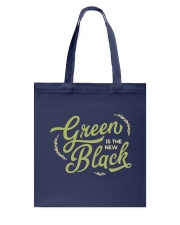 Green is the New Black Tote Bag thumbnail