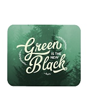 Green is the New Black Mousepad front