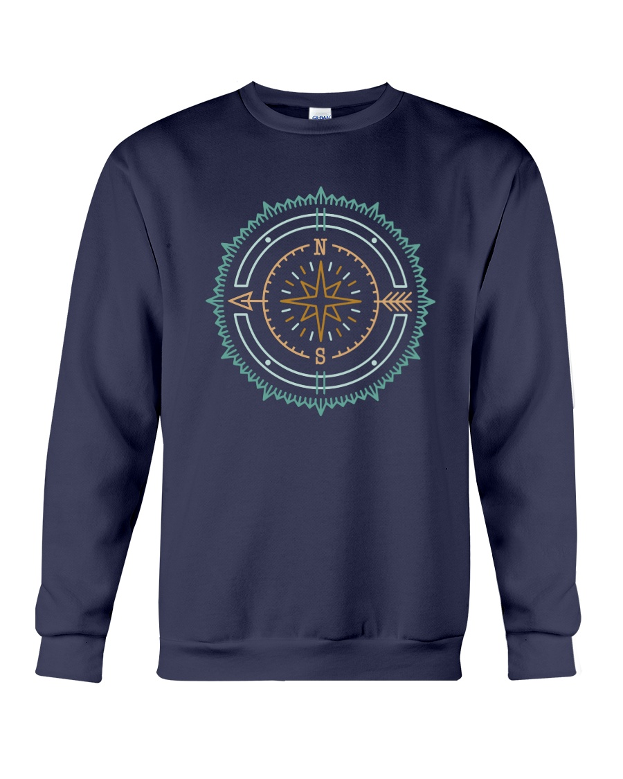 Compass Crewneck Sweatshirt