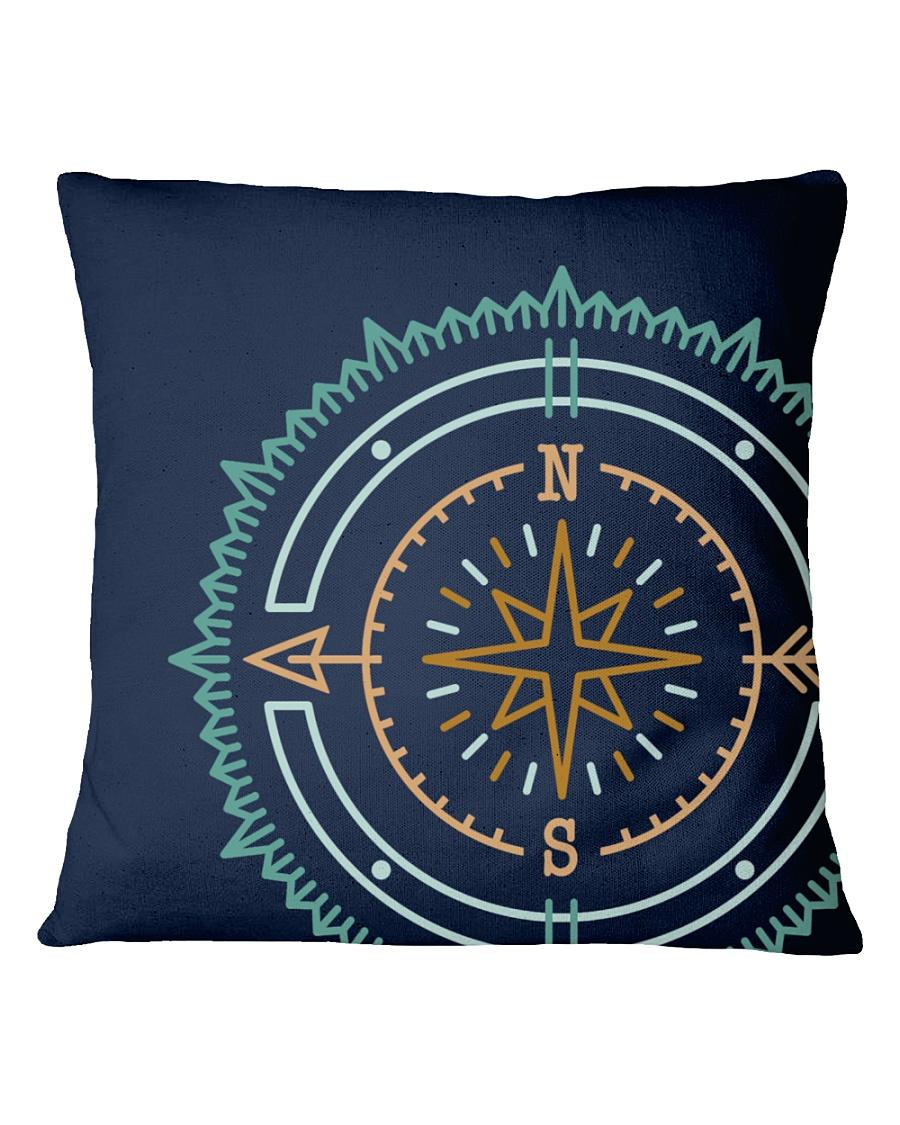 Compass Square Pillowcase