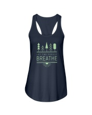 Let the Forest Breath Ladies Flowy Tank thumbnail