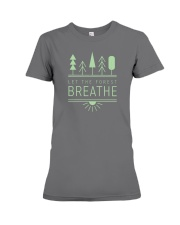 Let the Forest Breath Premium Fit Ladies Tee front