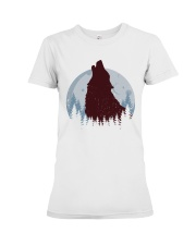 Howling Wolf Premium Fit Ladies Tee thumbnail