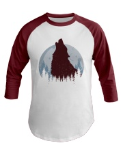 Howling Wolf Baseball Tee front