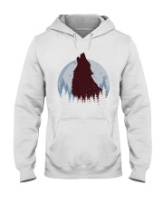 Howling Wolf Hooded Sweatshirt thumbnail