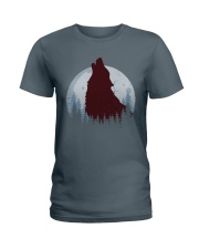 Howling Wolf Ladies T-Shirt thumbnail