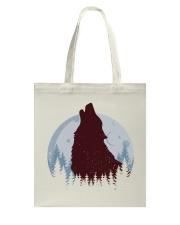 Howling Wolf Tote Bag thumbnail