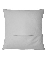 Howling Wolf Square Pillowcase back
