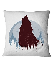 Howling Wolf Square Pillowcase thumbnail