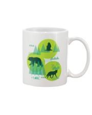 Eagle Bear Fox Mug front