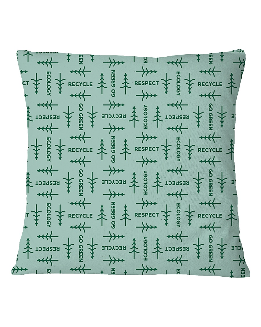 Recycle Square Pillowcase