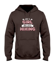 Just a Girl Who Loves Hiking Hooded Sweatshirt tile