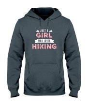 Just a Girl Who Loves Hiking Hooded Sweatshirt front